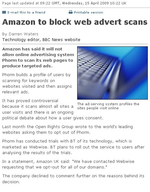 The BBC's flawed report on Amazon's Phorm opt-out
